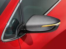 Genuine Kia Ceed 2012-2016 Door Mirror Caps - Carbon Fibre Look - A2431ADE00CB