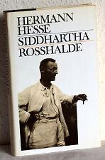 Hermann Hesse - SIDDHARTHA / ROSSHALDE