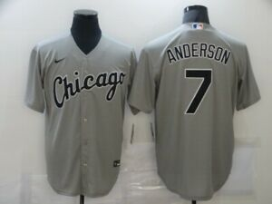 Hot sale Tim Anderson #7 Chicago White Sox Series Genuine Fan Edition Jersey