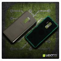 Akkudeckel für Samsung Galaxy S9 Plus SM-G965F Backcover ● Gold + Kleber - TOP