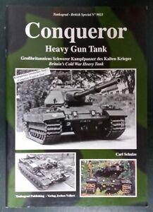 Tankograd British Special 9023 Conqueror Heavy Gun Tank, Softback book