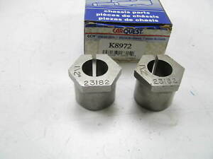 (2) Carquest K8972 Suspension Alignment Caster Camber Bushing - 1/2 Degree RWD