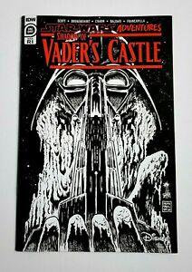 Star Wars Adventures Shadow of Vaders Castle ~ IDW 2020 ~ B&W Sketch Variant NM-