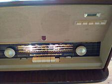 Vintage  Philips/Norelco  B5X98A Tube  Radio