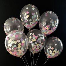 20x Konfetti Luftballons Confetti Balloon Helium Ballons Vintage Hochzeitsparty