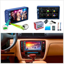 "7"" Double 2 Din HD Car Autos GPS Navigation Bluetooth MP5 MP3 Radio Player 7157G"