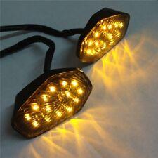 Clear LED Turn Signal lights for SUZUKI GSXR 600 750 1000 2001 2002 2003 2004