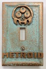 Metroid Light Switch Cover (Aged)