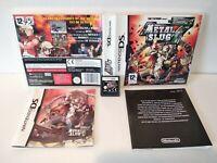 Metal Slug 7 - Jeu Nintendo DS - PAL Fr - Complet - Comme neuf