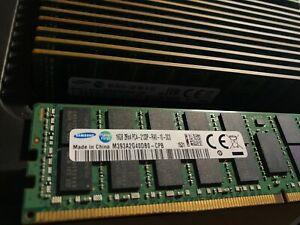 SAMSUNG 16GB 2RX4 M393A2G40DB0 PC4-2133P 288 PIN DDR4 SERVER DRAM ECC MEMORY