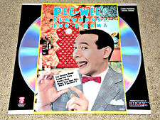 PEE-WEE'S PLAYHOUSE FUN-O-RAMA 1988 Laserdisc  FIRST FOUR EPISODES!! 1986