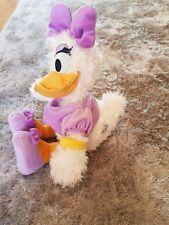 "Genuine Original Disney store Donald Duck 15"" DAISY DUCK Soft Plush Toy stamped"