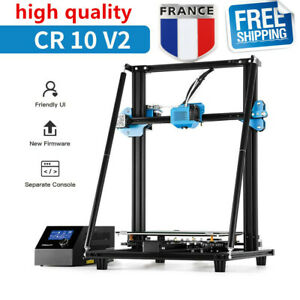 Imprimante 3D Creality CR-10 V2 d'occasion 300X300X400mm Mean Well Power Dual Z