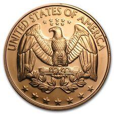 1 Unze Copper Round U.S. Quarter 999,99 AVDP