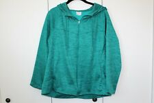 Danskin Now Women's Jacket, Size XL 16-18, Green