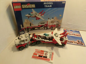 (GO ) Lego Model Team 5591 Mach II Red Bird Rig Mit OVP & BA INLAY TOP ZUSTAND