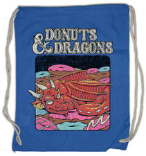 Donuts & Dragons Turnbeutel Pen & Paper Nerd Roleplay Fun RPG MMORPG LARP