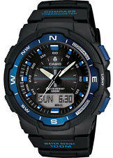 Casio SGW500H-2B Men's Twin Sensor Temperature Compass Analog Digital Watch