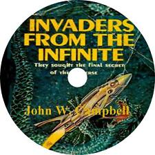Invaders from the Infinite John Campbell Sci-Fi Audiobook unabridged on 1 MP3 CD