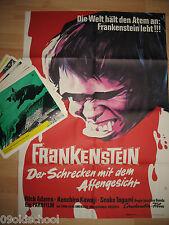 Frankenstein Der Schrecken mit dem Affengesicht 24 Aushangotos+Plakat A1 Ishirô