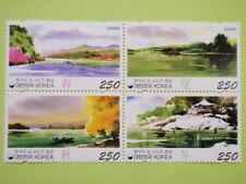 Korea 2010 Paintings Korean River Series 4th Issue Han River Block/4 MNH