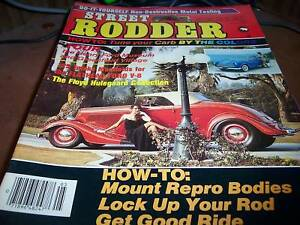 Street Rodder May 1985 Tune your Carb by the Colors