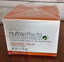 Avon Nutraeffects Active Seed Complex Radiance Cream 1.7 fl.oz.NIB