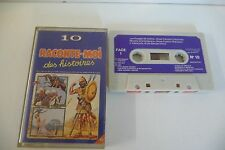 K7 AUDIO TAPE VOYAGES DE GULLIVER DIT PAR FRANCOIS CHAUMETTE DAVID ET GOLIATH ..