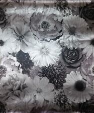 Luxury Foil in Bloom Floral Metallic Feature Wallpaper Arthouse - Mono 294001 A4 Sample