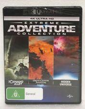 EXTREME ADVENTURE Tornado Alley/Grand Canyon/Hidden Universe 4K HD Blu-ray DVD