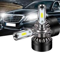 DOT SAE H7 LED Headlight Bulb Conversion Kit High Low Beam Fog Lamp 6000K White