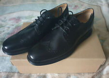 BNIB Cole Haan Men's LunarGrand Wingtips Black Brogue Shoes Size 10 UK