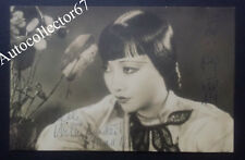 Genuine ANNA MAY WONG signed AUTOGRAPH photo