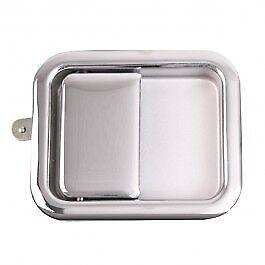 Full Steel Door Paddle Handle, Right Side, Chrome CJ5, CJ7, CJ8, WRANGLER 87-05
