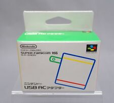 Nintendo USB Classic Mini Super Famicom AC Adaptor SFC SNES Japanese