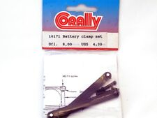 Corally 16171 Set Ferma Batterie Battery Clamp modellismo