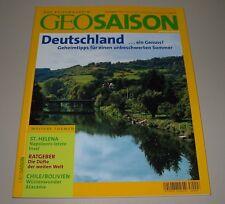 Geo Saison Deutschland ein Genuss Geheimtipps für einen unbeschwerten Sommer!