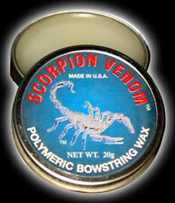 Scorpion Venom Polymeric Bowstring Wax