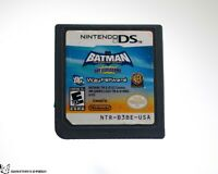 Batman: The Brave and the Bold The Videogame [Nintendo DS Side Scroller Fighting