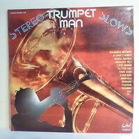 """2 x 33T Mario CAVALLERO TRUMPET MAN Vinyles LP 12"""" SLOWS -FESTIVAL 276 Trompette"""