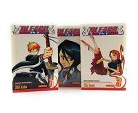 Bleach Manga Volumes 1,2,3 Anime Tite Kubo Viz Shonen jump