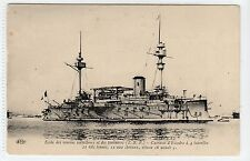 "MARINE NATIONALE ""MARCEAU"": French Naval shipping postcard (C14821)"