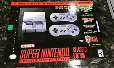 SNES Classic Mini Edition - 2017 Super Nintendo Entertainment System - Brand New