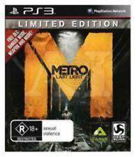 Metro Last Light Limited Edition Playstation 3 PS3