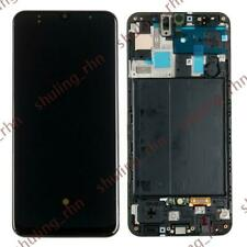 For Samsung Galaxy A50 2019 A505 OLED LCD Display Touch Screen Digitizer + Frame
