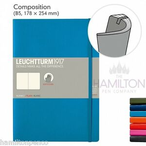 LEUCHTTURM 1917 COMPOSITION B5 SOFTCOVER NOTEBOOK - various colours available