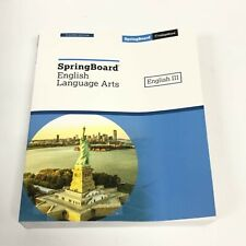 SpringBoard Language Arts English III Grade 11 TEACHER Edition Textbook New