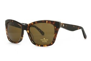 Kate Spade JANAE S3P VW New Authentic Polarized Sunglasses 53-17-135 Tortoise