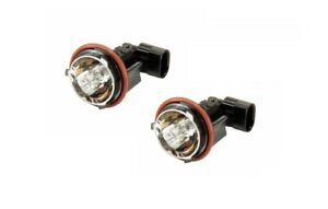 Set of 2 Headlight Halo Anello Bulb with Socket (Angel Eye bulb) HELLA for BMW