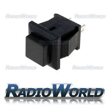 Black Momentary ON-(OFF) Square Push Button Switch SPST-NC 12v Car Dash Horn
